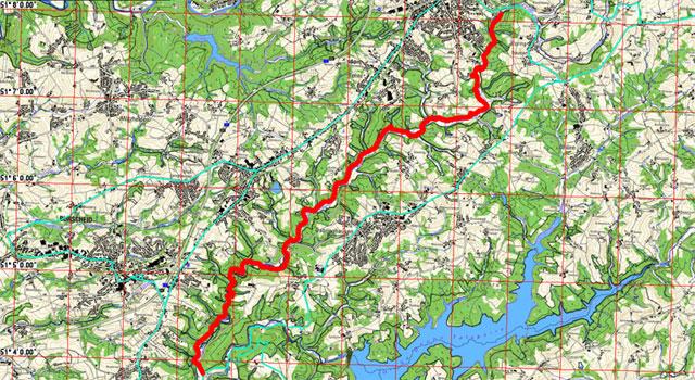 Route Eifgenbachweg