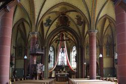 Kirchsaal Pfarrkirche St. Margareta