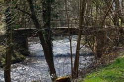 Brücke über die Dhünn bei Menrath