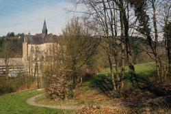 Blick zurück auf den Altenberger Dom