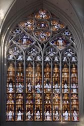 Das große Westfenster im Altenberger Dom