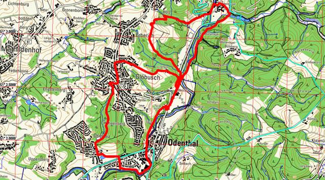Route Grafen- und Mönchsweg