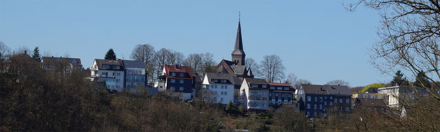 Blick vom Tuchmacherweg auf Keilbeck