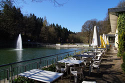 Das Restaurant Uelfetal ist ein kleines Schmuckstück des Bergischen Landes
