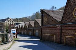 """Das Wülfing-Museum befindet sich auf dem Gelände der ehemaligen Tuchfabrik """"Johann Wülfing & Sohn"""" in Radevormwald-Dahlerau"""