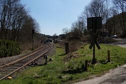 Die Wuppertalbahn Richtung Dahlhausen