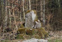 Der Grenzstein trennte einst die Herrschaft Büren von Rüthen und Brilon