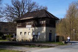 Heimatbahnhof der Waldbahn Almetal e. V.