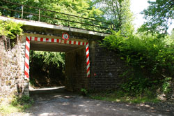 Bahnunterführung Jexmühle