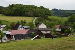 Blick auf Bürberg