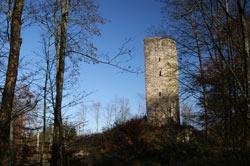 Die Ruine Waldenburg