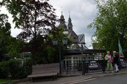 Ortszentrum von Oberkirchen