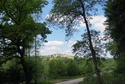Der Rennweg im Glennetal