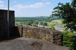 Reste der Burg Kallenhardt