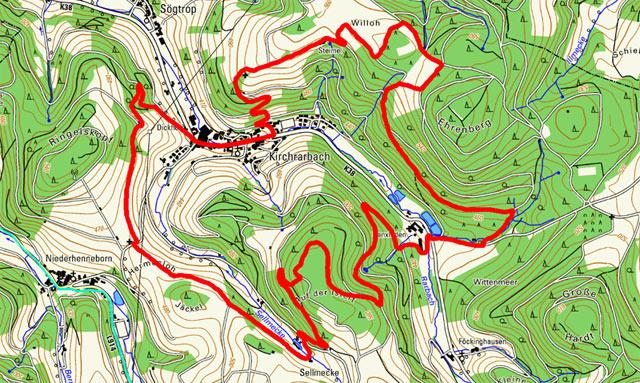 Golddorf-Route Kirchrarbach