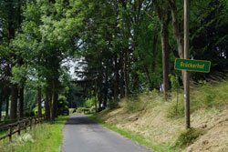 Brückerhof in Sicht