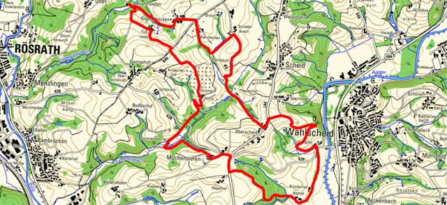 Route der Bergischen Mühlentour