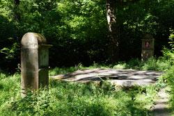 Der Ringelstein - eine etwa 15 Millionen Jahre alte natürliche Quarzitplatte - diente Teilen der Kapelle als Fundament
