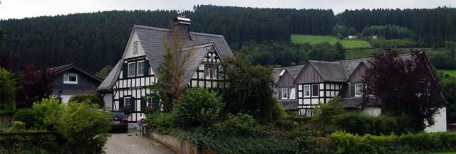 Fachwerkensemble in Ober-Fleckenberg