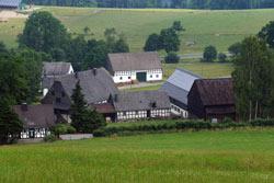 Blick vom Giersberg auf Almert