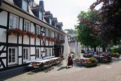 Outdoorgastronomie Landgasthof Schütte in Oberkirchen