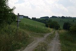 Golddorf-Route auf der Sommerseite