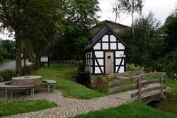 Der Mühlenplatz in Grafschaft wurde im Jahr 2013 angelegt