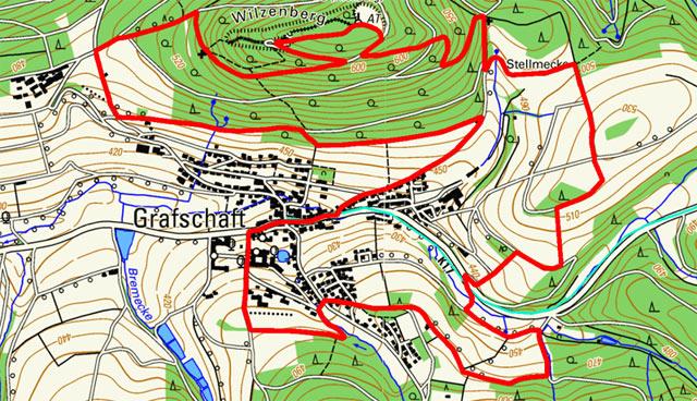 Golddorf-Route Grafschaft