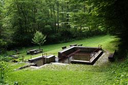 Wassertretbecken unterm Nonnenstein