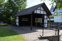 Hier stand die Burg des Ritters Hunold von Hanxleden