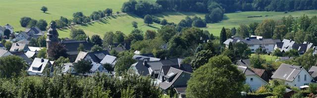 Blick vom Ohlberg auf Holthausen