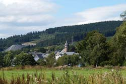 Blick von der Lüttmecke über Holthausen zur Grube Magog