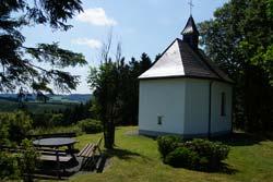 Die Kreuzkapelle auf dem Steimel