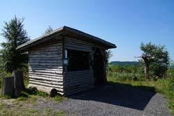 Die Kyrill-Hütte auf der Istert