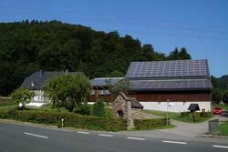 Der Bauernhof Richard Hennecken  stammt aus dem  Jahr 1788
