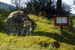 Das Goldsteindenkmal in Hundesossen