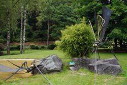 Libellenskulptur von Lothar Klute