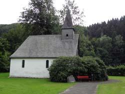 Die Jakobuskapelle an der alten  Heidenstraße in Winkhausen