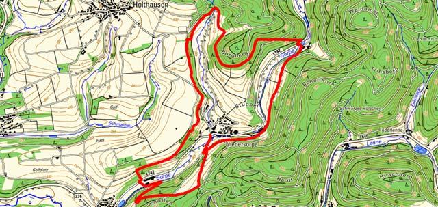 Golddorf-Route Niedersorpe