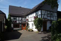 Fachwerkgebäude in Oberhenneborn