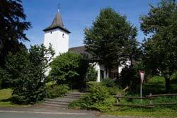 Die Pfarrkirche St. Agatha in Oberhenneborn