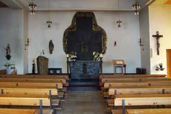 Innenraum von St. Agatha