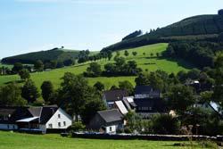 Blick von der Golddorf-Route  auf das Todesbruch