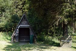 Schutzhütte an der Landwehr