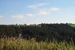 Blick vom Vorderen Hohen Knochen auf Langewiese