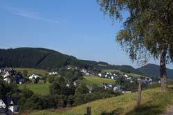 Blick zurück auf Westfeld