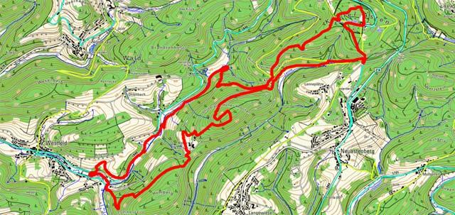 Golddorf-Route Westfeld Kahler-Asten-Steig
