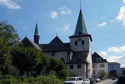 Die Gemeinde- und Propsteikirche St. Laurentius in Arnsberg