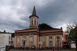 Die Auferstehungskirche am Neumarkt in Arnsberg