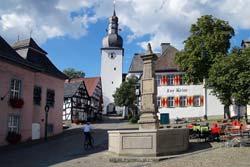 Glockenturm der Stadtkapelle St. Georg in Arnsberg